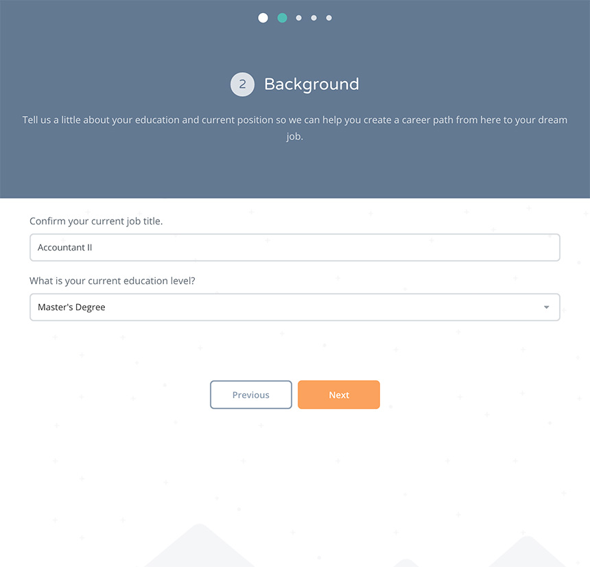 Onboarding Background Screen